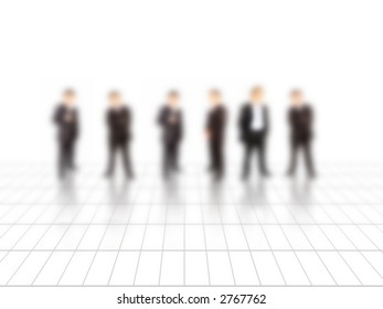 a business conceptual image with a business team
