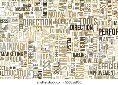 Business conceptual word cloud for for design wallpaper, texture or background, grunge & rough