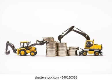 business construction industry with home construction concept