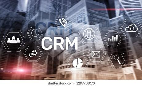 Business Customer CRM Management Analysis Service Concept. Relationship Management.