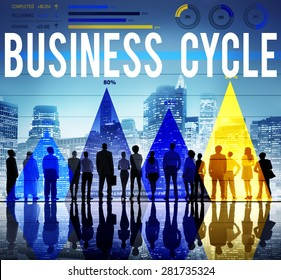 Business Cycle Planning Strategy Organization Concept