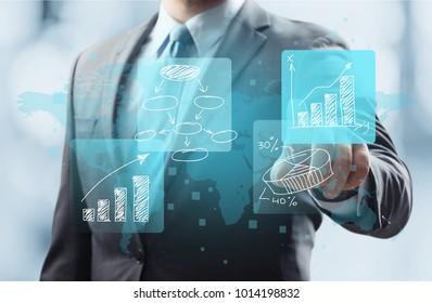 Business data process management