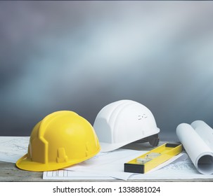 Business engineer contractor concept
