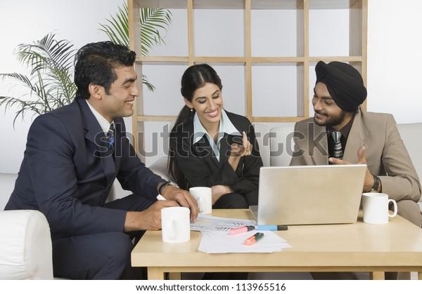 Business executives