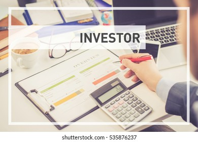 BUSINESS AND FINANCE CONCEPT: INVESTOR