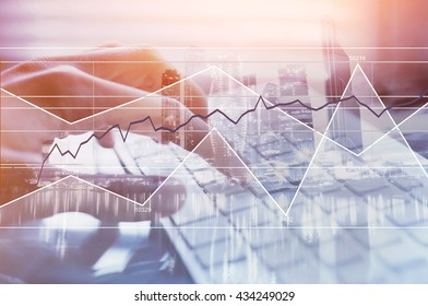 business and finance, modern technologies, forex background