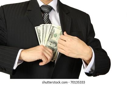 Business Finance Money in hand