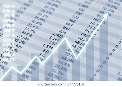 Business Financial Report with Forex Index