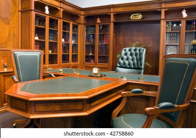 Business furniture in classical style