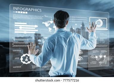 Business future technology concept