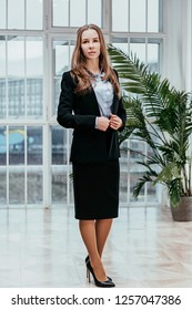 Business girl portrait