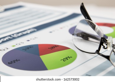 Business graph analysis report. Accounting