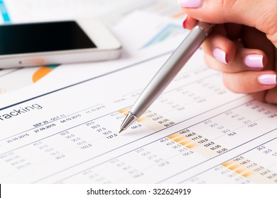 Business graphics, analysis