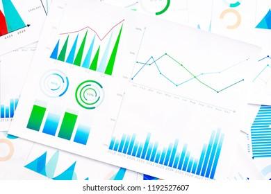 Business Graphs finance document.