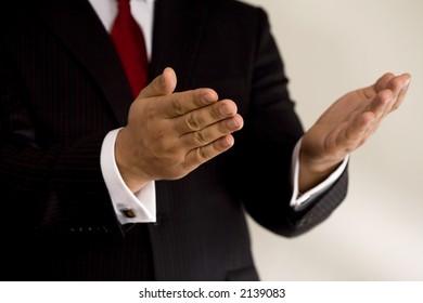 business hands, man in suit - Shutterstock ID 2139083