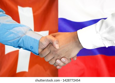 Magnitogorsk City Russia Gold-tone Flag Cufflinks