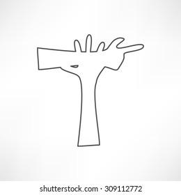 Business icon. Handshake