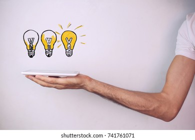 Business or idea growth concept