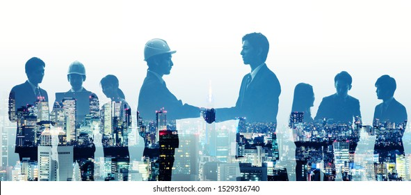 Business and industry concept. Human resources. Human relationship.