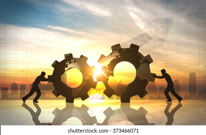 Business innovation world creative idea