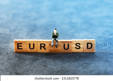 Business investment concept picture - EURUSD
