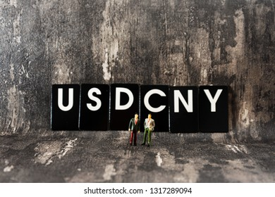 Business investment concept picture - USD/CNY