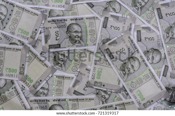 Business Investment New 500 Indian Rupee Stock Photo (Edit Now