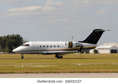 Business jet airplane for executive travel