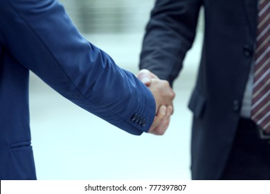 business or lawyer shake hands showing Trustworthy team work .Managing small businesses with incentives to work as a system incorporating a strong network. successful business.partner concept
