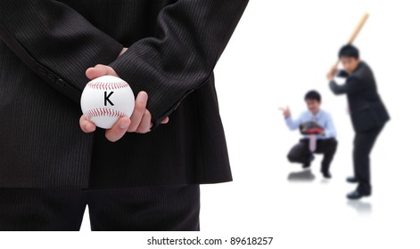 Business is like a baseball game, boss is pitcher, team work is only way to win