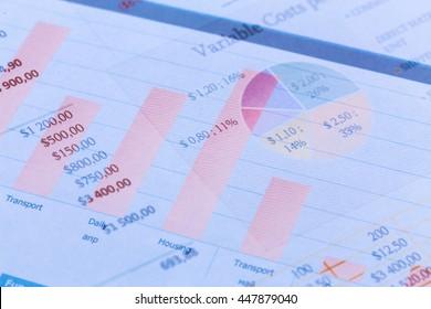 Business Line graph