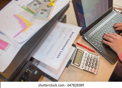 Business loans repayment calculator. Business loans form. Business loans repayment terms