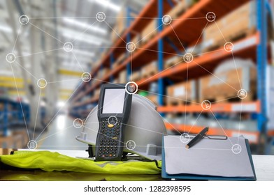 Business Logistics concept global partner connection of Container Cargo freight ship for Logistic Import Export background,