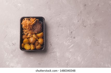 business lunch in lunchbox for delivery