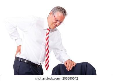 business man arthritis