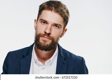 Business man with a beard
