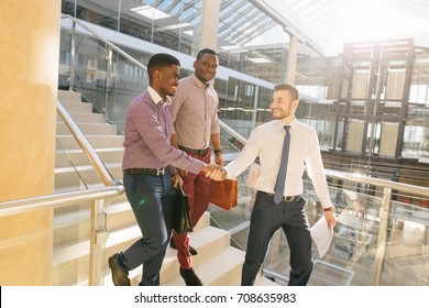 Business Man deal. Business handshake and business people on deal concept