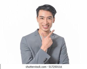 Business man hand gesture