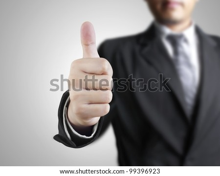 Business man hand with