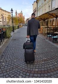 Business man in Ljubljana, Slovenia