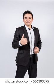 Business man on white background, isolated background.