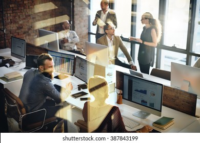 Business Marketing Team Discussion Corporate Concept - Shutterstock ID 387843199