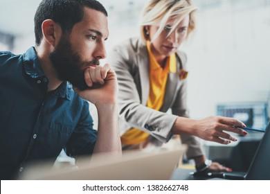 Business Meeting Konzept. Arbeitszeiten im Büro