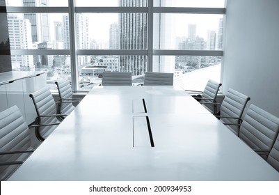 Business meeting room or Board room interiors