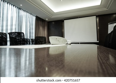 Business meeting room or Board room interiors.