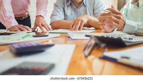 Business meetings with government and private borrowers with co-workers and tax advisor to assign roles of employees in the organization of each agency.
