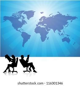 Business men and women 14