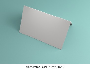 Business Name Card On The Table For Background