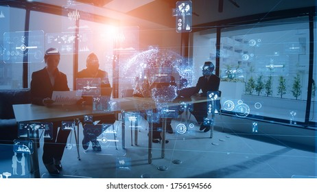 Business network concept. Group of businessperson. Teamwork. Human resources. Group of businessperson in the office.