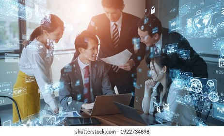 Business network concept. Human Resources. Group of businesspeople.